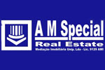 Logo do agente A M SPECIAL REAL ESTATE - Med. Imob. Unip. Lda - AMI 9129